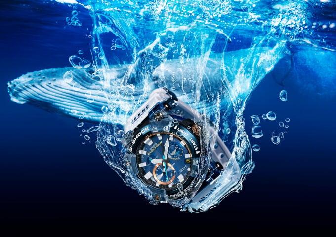 G-Shock Frogman GWF-A1000K-2AJR, GWX, Baby-G I.C.E.R.C. 30th Ann. Love The Sea And The Earth 2021