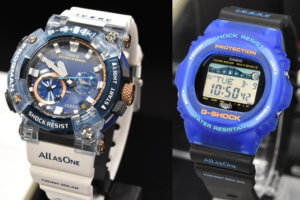 G-Shock Frogman GWF-A1000K-2AJR and GWX-5700K-2JR I.C.E.R.C. 30th Anniversary Love The Sea And The Earth 2021