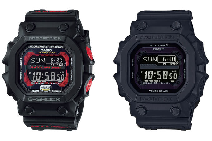 G-Shock GXW-56-1AER & GXW-56BB-1ER coming to Europe