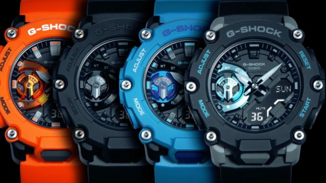 G-Shock GA-2200: Carbon Core Guard with Industrial Style