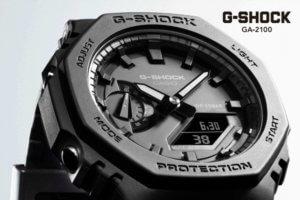 G-Shock GA-110 and GA-2100 Catalogs