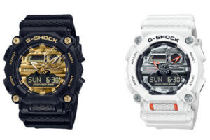 G-Shock GA-900A Series with Metallic Dial and Hands