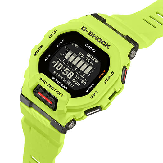 G-Shock G-SQUAD GBD-200-9 Angle
