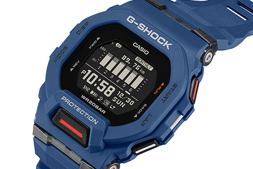 G-Shock G-SQUAD GBD-200 Fitness Watch with Square Case – G-Central G-Shock Watch Fan Blog