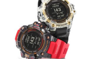 G-Shock GBD-H1000-1A9 and GBD-H1000-4A1 Classic Colors with Skeleton Guards