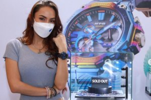 Katreeya English wears G-Shock at Siam Paragon Watch Expo