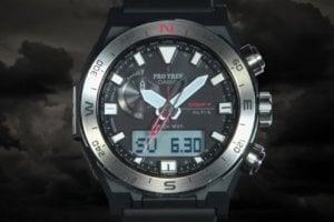 Pro Trek PRW-6800: Rotating Bezel and Base Plate Compass