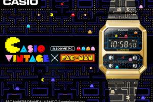 Pac-Man x Casio Vintage A100WEPC-1B Collaboration Watch