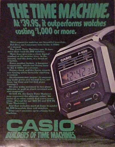 Casio F-100 Ad