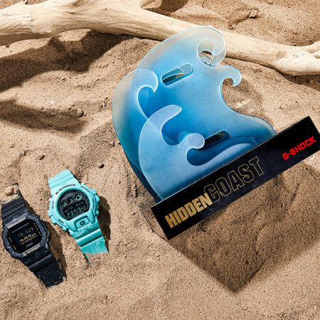 Sea Wave Edition G-Shock DW-5600WS & DW-6900WS in China with Hidden Coast packaging