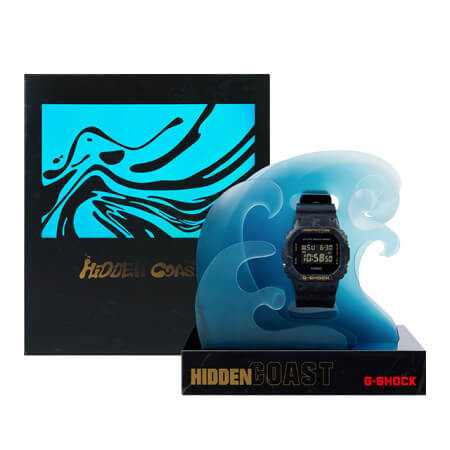 Sea Wave Edition DW-5600WS with Hidden Coast Packaging