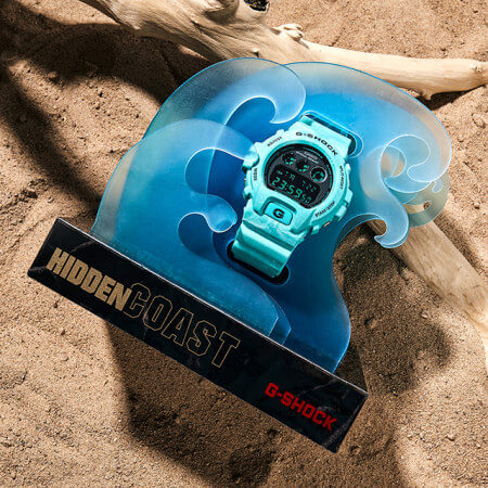 Sea Wave Edition DW-6900WS with Wave Display Stand