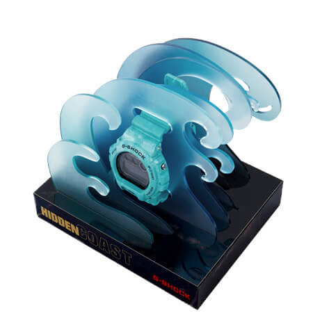 G-Shock Sea Wave Stand