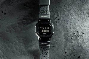 FEATURE x G-Shock GM5600B-1FT Vegas Noir Collaboration