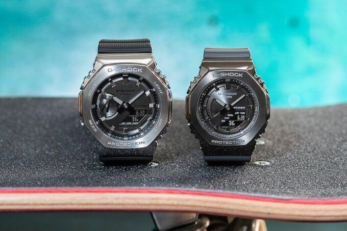 G-Shock GM-2100 versus GM-S2100