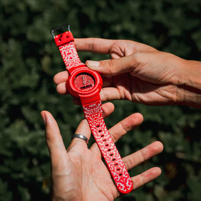 Tobyato x G-Shock AW-500 for Singapore National Day 2021
