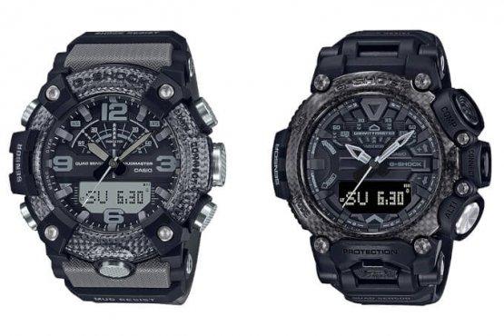 G-Shock Mudmaster GG-B100-8A and Gravitymaster GR-B200-1B