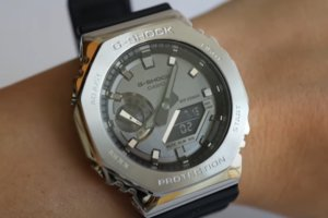 Hands-On Videos of G-Shock GM-2100 and Casio A100