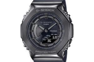 The smaller metal G-Shock GM-S2100 is for men too