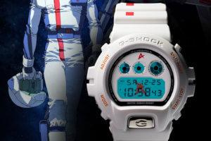 Gundam Fan Club x G-Shock DW-6900 Amuro Ray Model