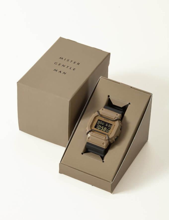MISTERGENTLEMAN x G-Shock DW-5600 Box