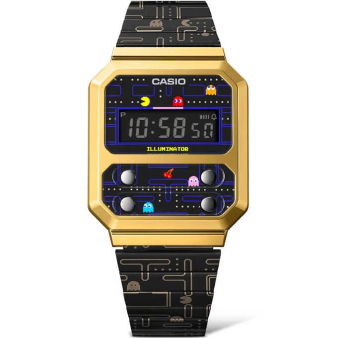 Pac-Man x Casio A100 Collaboration Watch