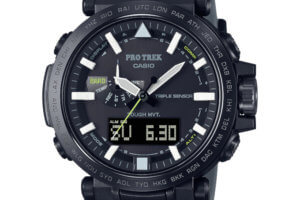 Pro Trek PRW-6620YFM-1JR: All-New PRW-6620 with Silicone and MXP Bands