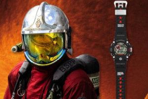 Pompiers de Paris x G-Shock Rangeman GW-9400BSPP-1ER