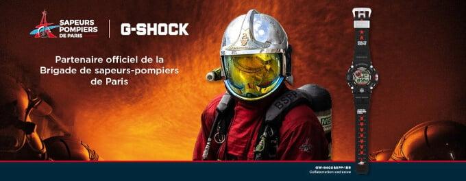 Brigade de sapeurs-pompiers de Paris G-Shock Rangeman Collaboration