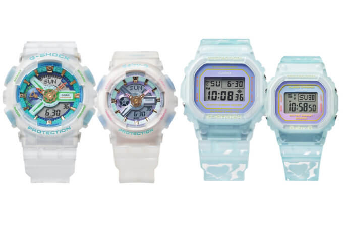 G-Shock and Baby-G Summer Lover's Collection 2021 SLV-21A-7A and SLV-21B-2