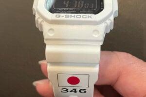 Japan Olympic judo team wears special G-Shock watch in tribute to Toshihiko Koga