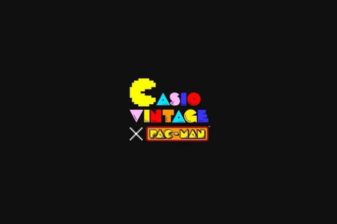Casio Vintage x Pac-Man Collaboration