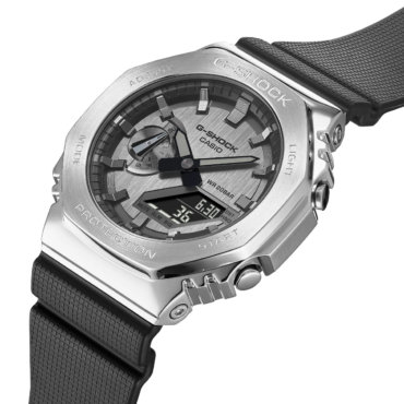 G-Shock GM-2100 with Stainless Steel Bezel