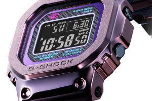 Purple-blue G-Shock GMW-B5000PB-6 evokes twilight in Tokyo
