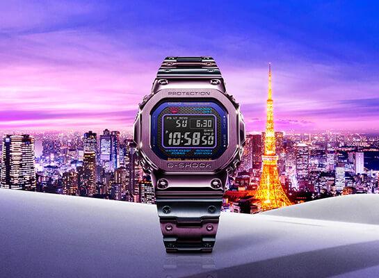 G-Shock GMW-B5000PB-6 Tokyo Twilight