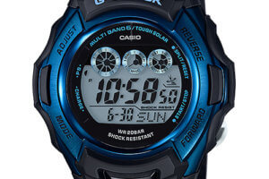 G-Shock U.S. is selling the blue and black GWM500F-2 for $104