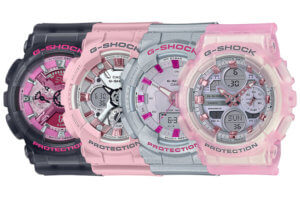 G-Shock mixes punk glam and pastel for Neo Punk S Series