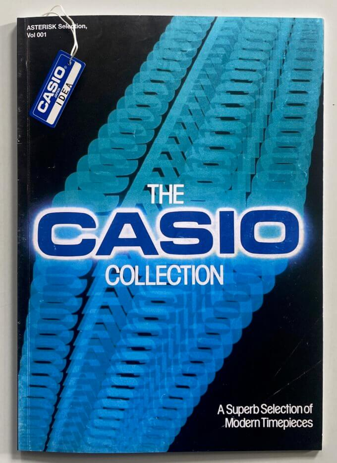 The Casio Collection Zine Book from IDEA