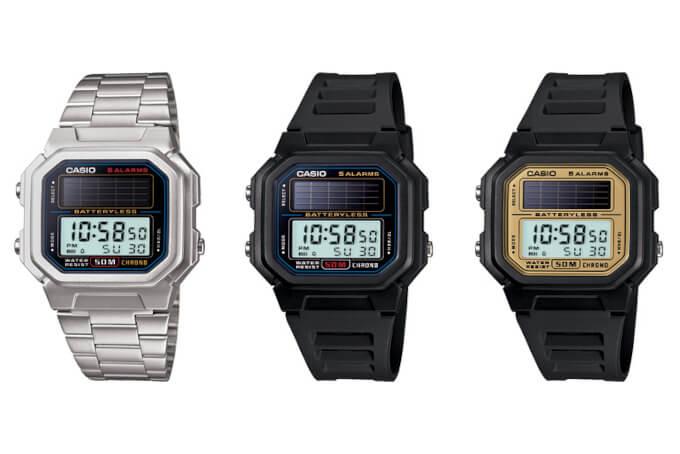 CASIO AL-190 Solar Powered Watch: AL-190W-1AV AL-190WD-1AV AL-190W-9AV