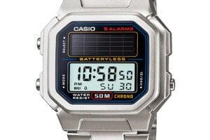 Retro solar-powered Casio AL-190 watch is worthy of a revival
