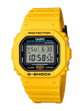 G-Shock DW-5600REC-9 Yellow
