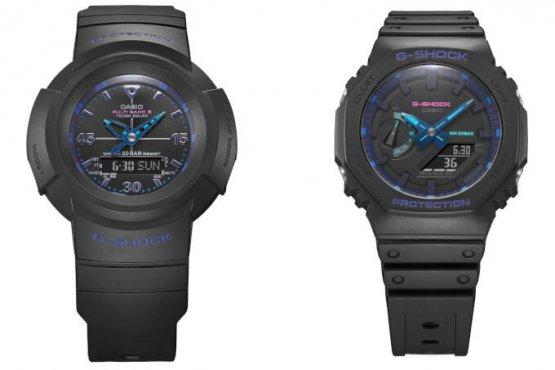 G-Shock AWG-M520VB-1A GA-2100VB-1A