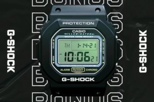 G-Shock Australia: Free DW-5600 Wall Clock with Qualifying Purchase