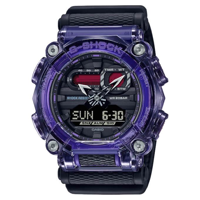G-Shock GA-900TS-6A Purple