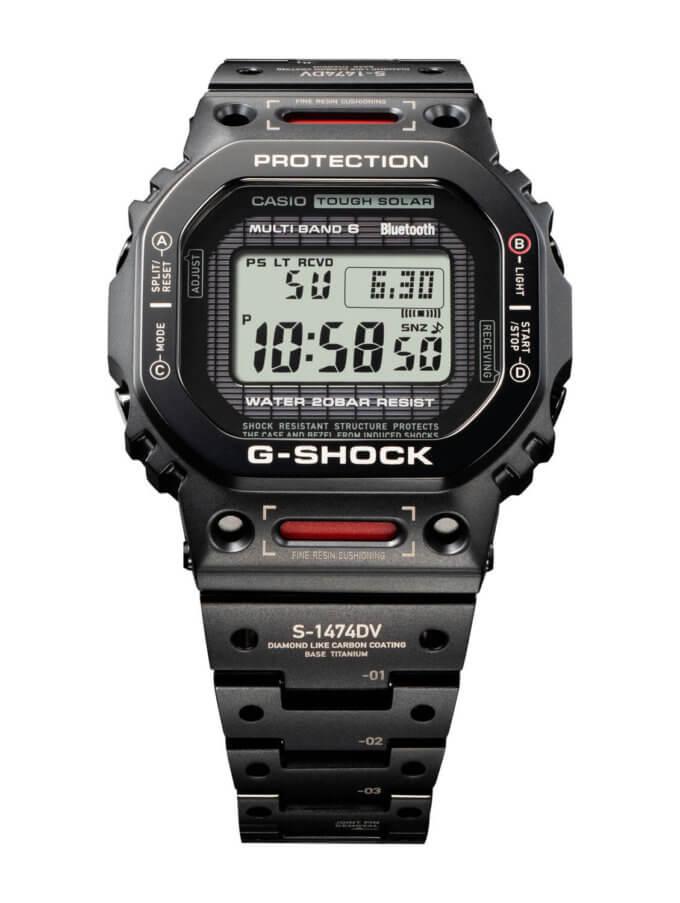Mech-inspired titanium G-Shock GMW-B5000TVA-1 (Titanium Virtual Armor)