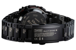 Mech-inspired G-Shock GMW-B5000TVA-1 Titanium Virtual Armor watch is unlike other full metal squares