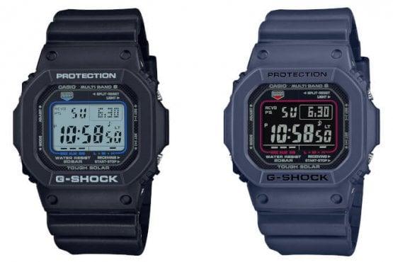 More G-Shock GW-M5610U: GW-M5610U-1C and GW-M5610U-2