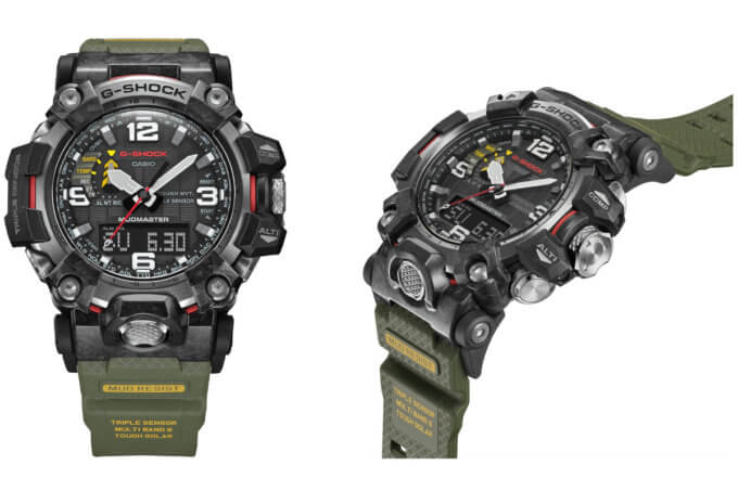 G-Shock Mudmaster GWG-2000 with Carbon Core Guard and Forged Carbon