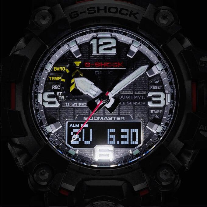 G-Shock Mudmaster GWG-2000 Backlight