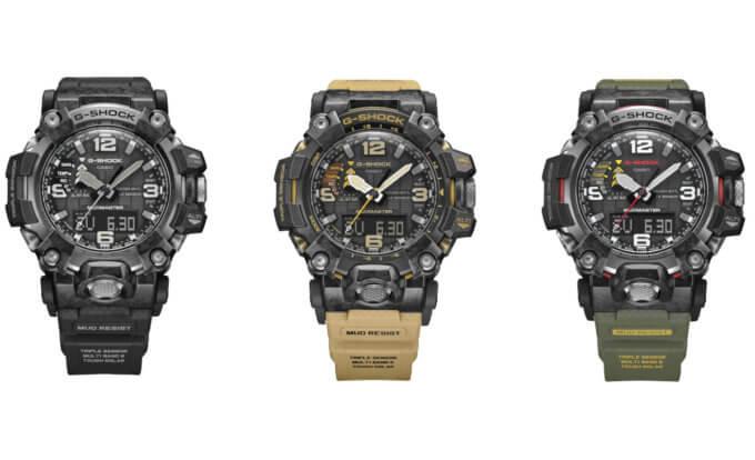 G-Shock Mudmaster GWG-2000: GWG-2000-1A1, GWG-2000-1A5, GWG-2000-1A3